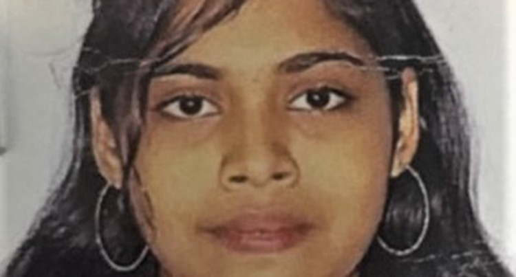 Missing: 16-year-old Shyna Shenaz Ali