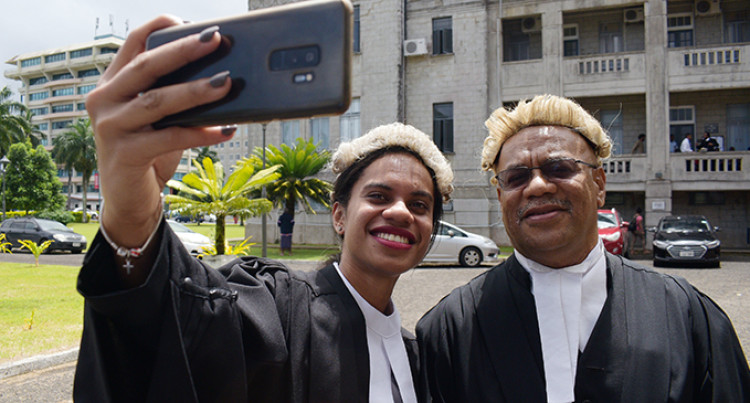 'Excellence Over Success', Emotional Moment For Father As Daughter Is Admitted To The Bar