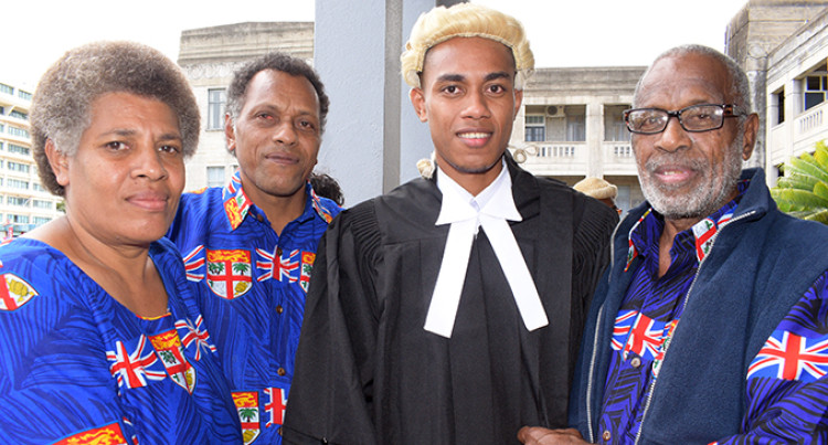 Dad Proud As Son Takes Oath To Be A Lawyer