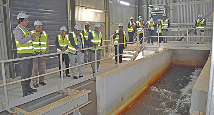 Prime Minister's 'Crucial' Visit At Sydney's Desalination Plant