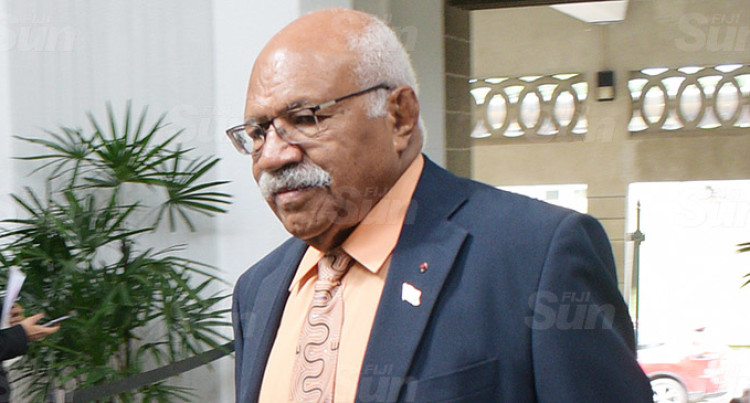 Rabuka Referred To Speaker Following 'Attack'  Statements Of Saneem
