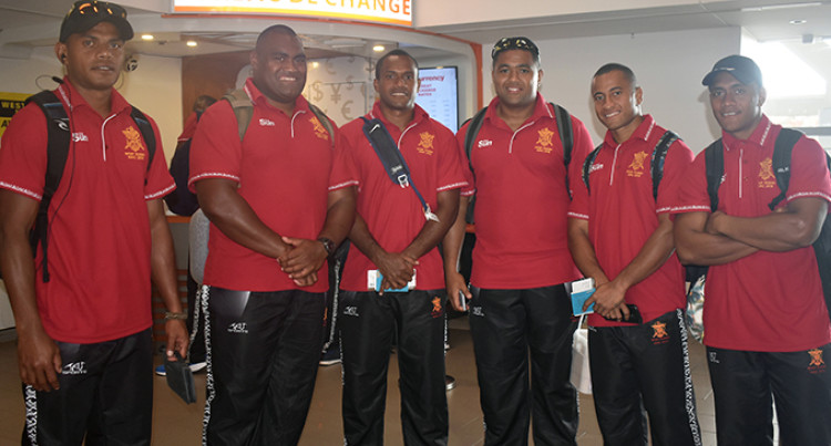 Ready To Defend: Republic of Fiji Military Forces Departs For International Defence Rugby Competition In Japan