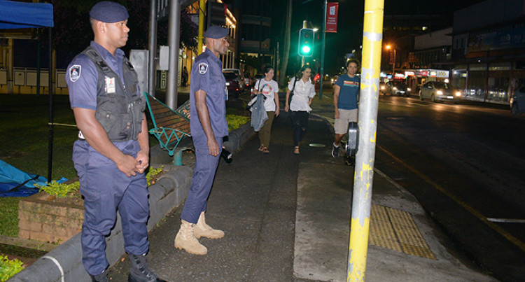 Police Presence Remains High In Suva