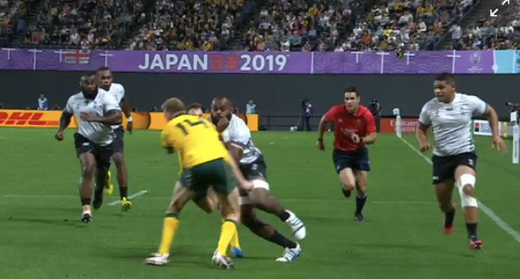 RWC 2019: Hodge Gets 3-Week Ban For Dangerous Tackle On Yato