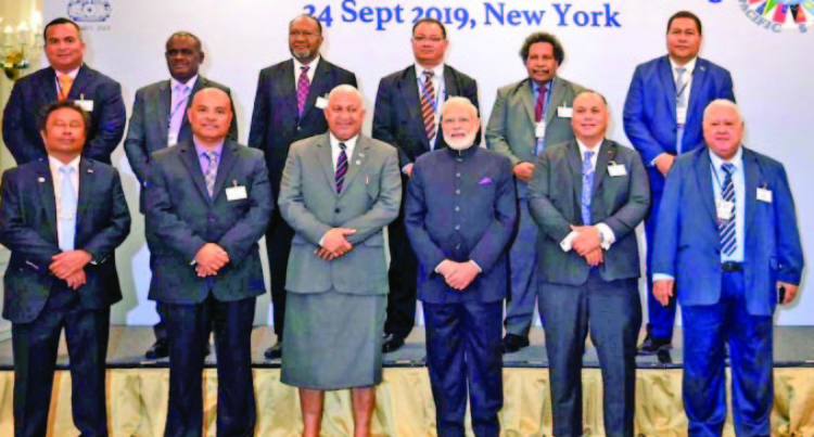 Prime Minister Voreqe Bainimarama Asks India to Reduce Reliance on Coal