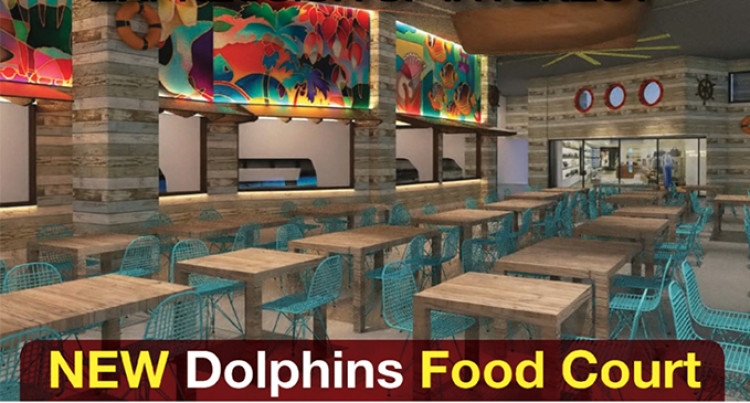 Renovated Dolphins Food Court to Feature Six Outlets
