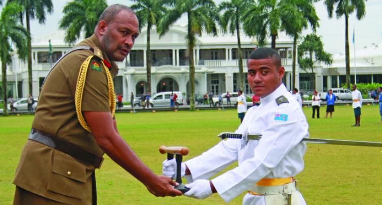 Ratu Sukuna Headboy, Taka Vulaono Takes Top Cadet Award