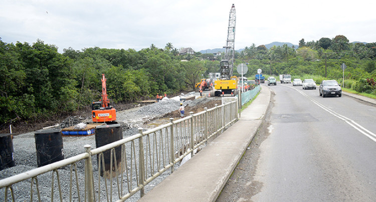 Fiji Roads Authority Eye Early 2020 Completion Date For Tamavua-i-Wai Bridge