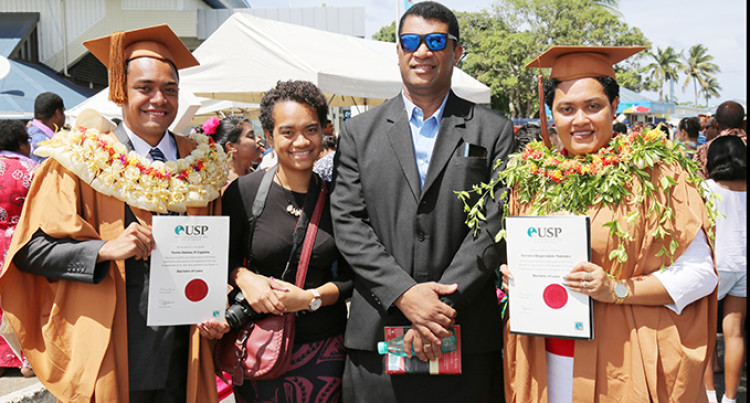Mother And Son Graduate With Law Degrees