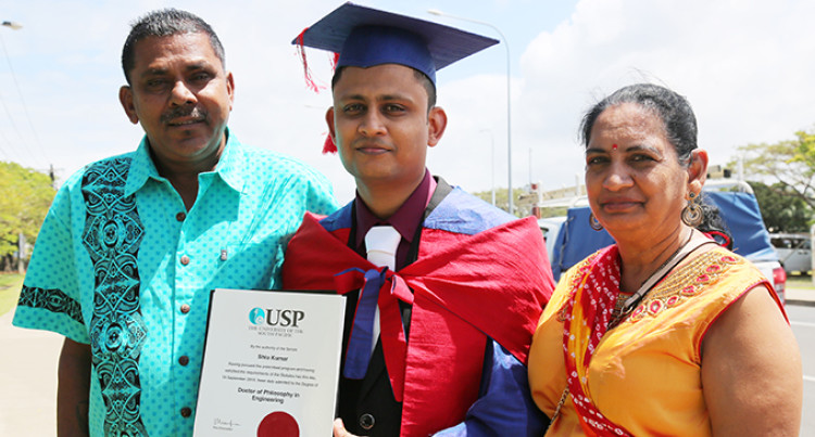 Labasa Lad Graduates With A Doctoral Degree in Engineering