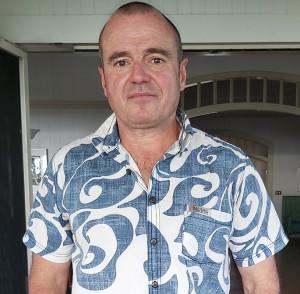 Australian High Commissioner to Fiji John Feakes.
