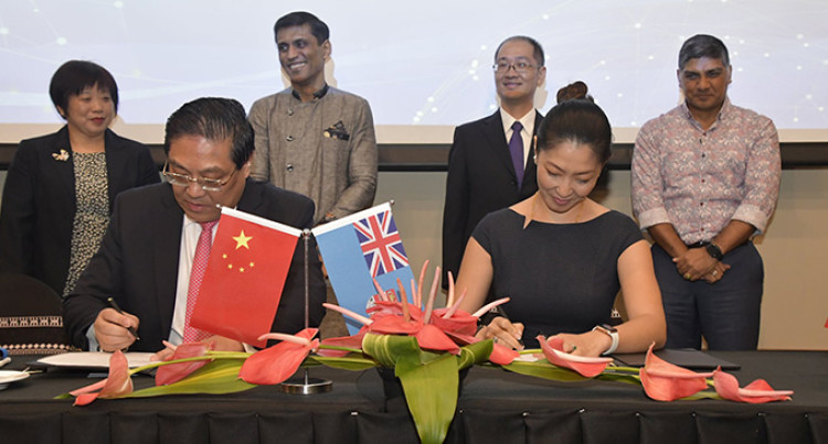 Six Purchase Contracts Inked Between China And Fiji Businesses