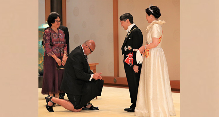President Konrote Attends The Enthronement Ceremony Of Japanese Emperor Naruhito