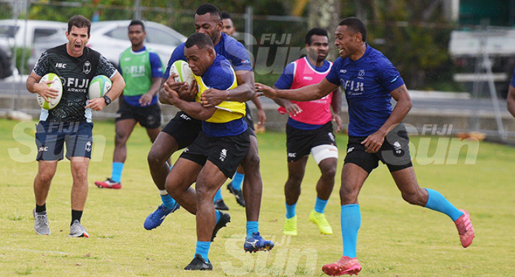 Baber Ups Tempo On Local 7's Players