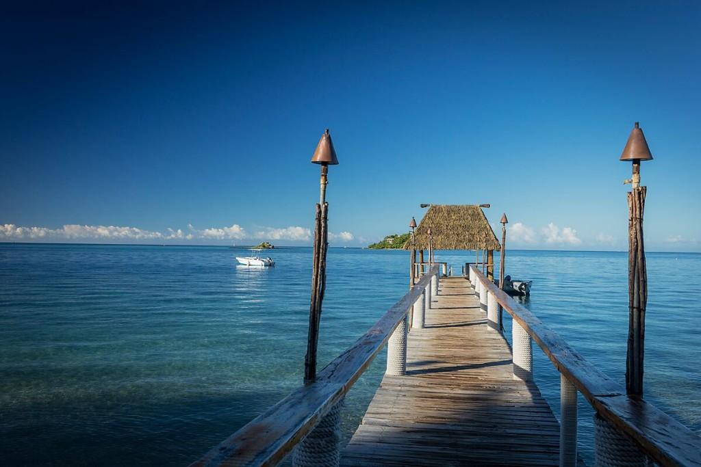 Malolo jetty Photo: Malolo Island Resort