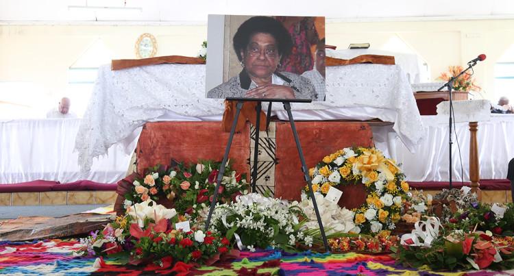 Adi Litia Cakobau Funeral
