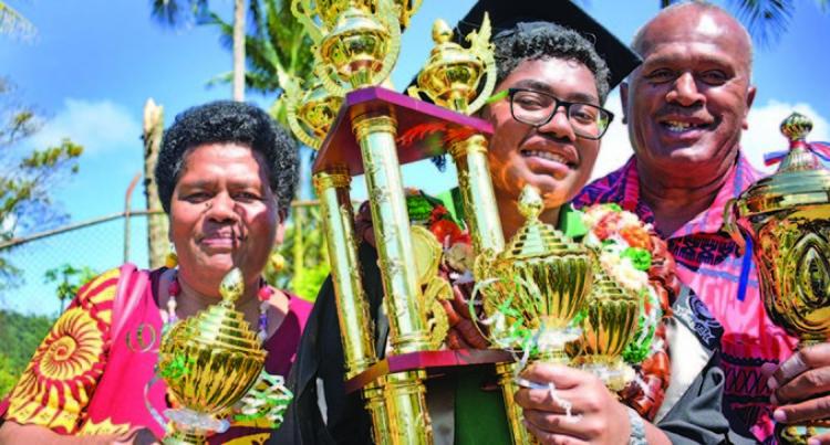 Namosi Lass Expresses Joy On Being Named Ballantine Memorial School Dux