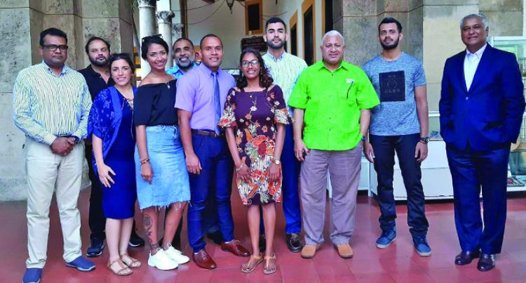 PM An Inspiration: Fijian Medical Students