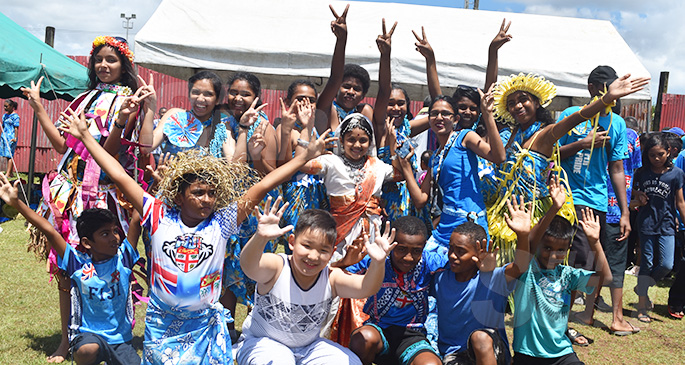 Bethel Primary School in Labasa during the Fiji Day celebration at Subrail Park on October 10, 2019. Photo: Selita Bolanavanua