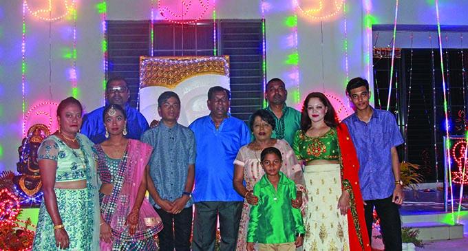The Prasad family at their home in Vatuwaqa on October 27, 2019.  Photo: Kelera Sovasiga