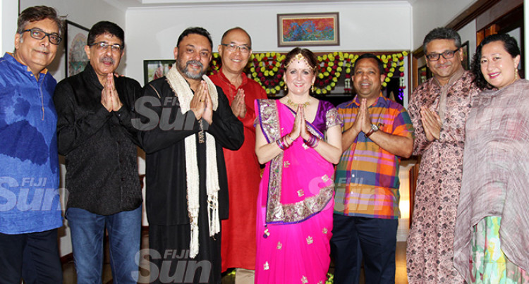 British Commissioner-Fiji, Hopkins Puts on Diwali Delight for Guests