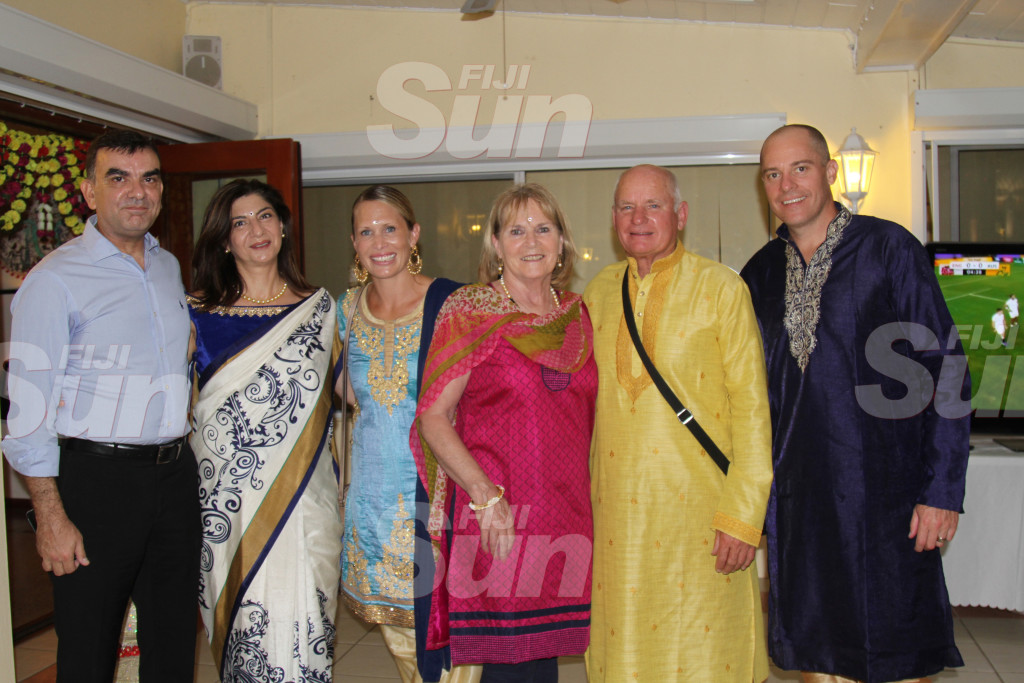 Guests at the British High Commissioner's residence on October 19, 2019. Photo: Kelera Sovasiga Scan