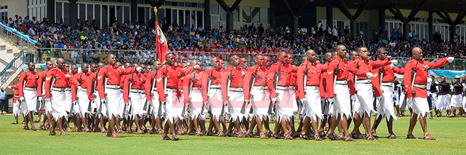 RFMF personnel during the Fiji Day Parade at Albert Park on October 10, 2019. Photo: Ronald Kumar.