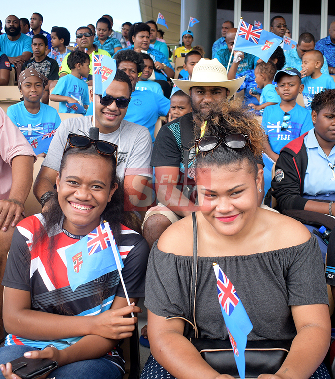 Many turn up in numbers to mark Fiji Day celebration at Albert Park on October 10, 2019. Photo: Ronald Kumar.