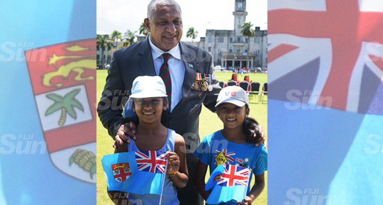 PM Praises Superb Display By Disciplined Forces For The Fiji Day Parade