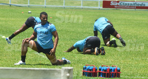 Fiji Airways Fijian Drua flanker Filimoni Seru during the captain's run at Lawaqa Park, Sigatoka on October 11, 2019. Photo: Mereleki Nai