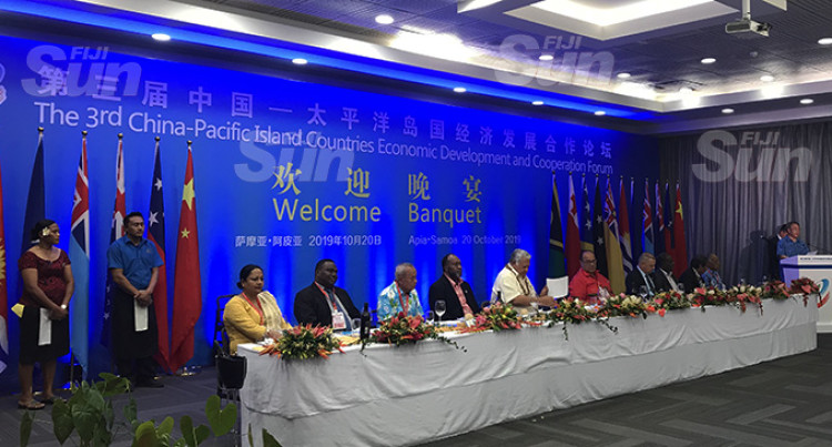 China To Work Together With Pacific Islands Countries, Implement Consensus Leadership