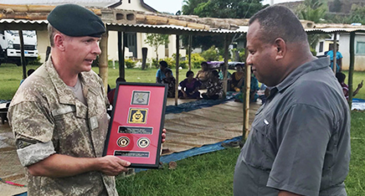 Nausori Highlands, A Perfect Setting For Kiwi Officer Cadets To Be Tested