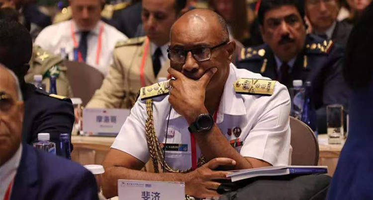 Commander Naupoto at Military Forum in China