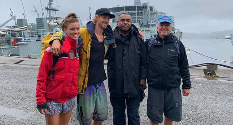 Three German Nationals Rescued By Fijian Navy