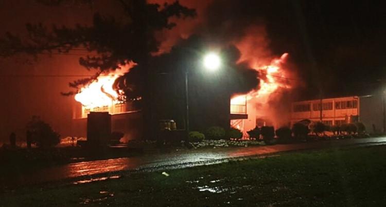 Fire Razes RKS Dormitory