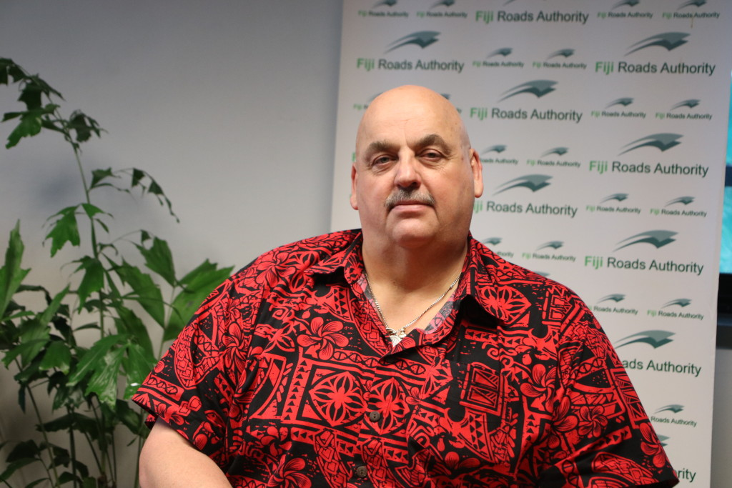 Fiji Roads Authority chief executive officer Jonathan Moore.