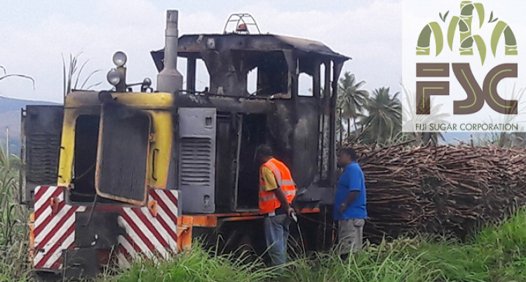 FSC Responds To Locomotive Fire Incident