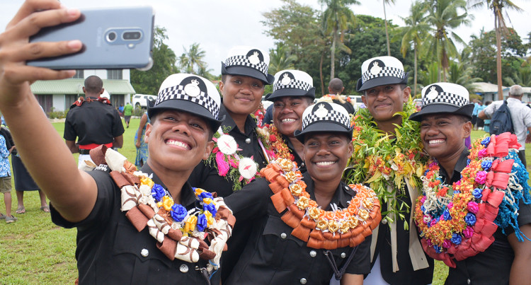 Fiji Police Force Pass-Out Parade October 2019
