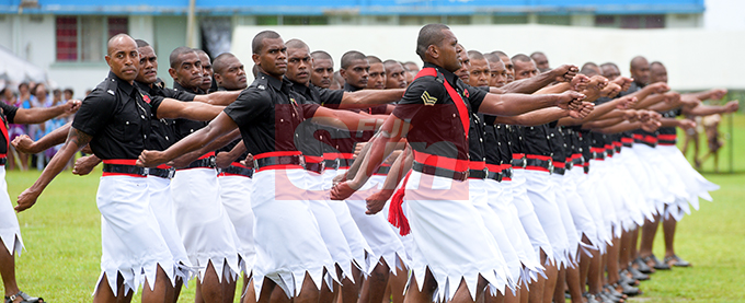 205 men and women on parade during Police Pass out parade in Suva on October 18, 2019. Photo: Ronald Kumar.