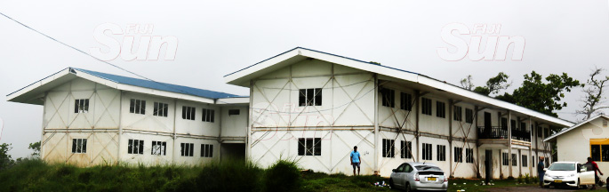 QVS Building yet to be completed. Photo: Kelera Sovasiga