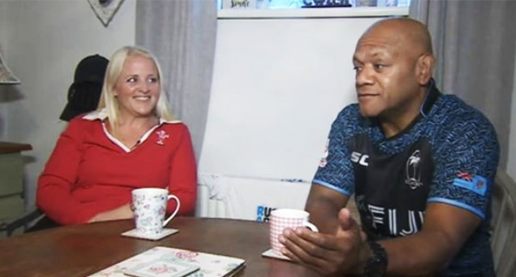 Fiji vs Wales: A Divided 80 Minutes For  Manaseitava Family