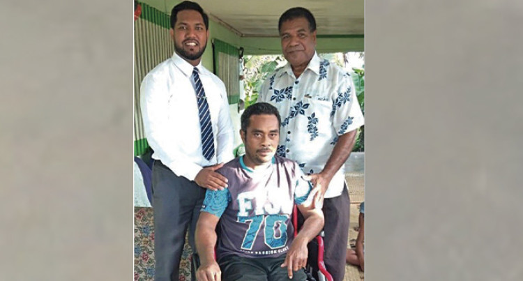 40-Year-Old Accident Victim Receives New Wheelchair