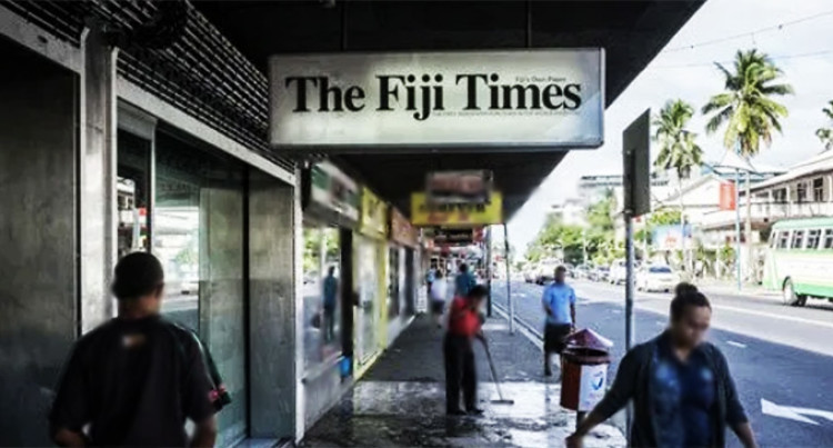 Human Rights Chief Calls Out Fiji Times