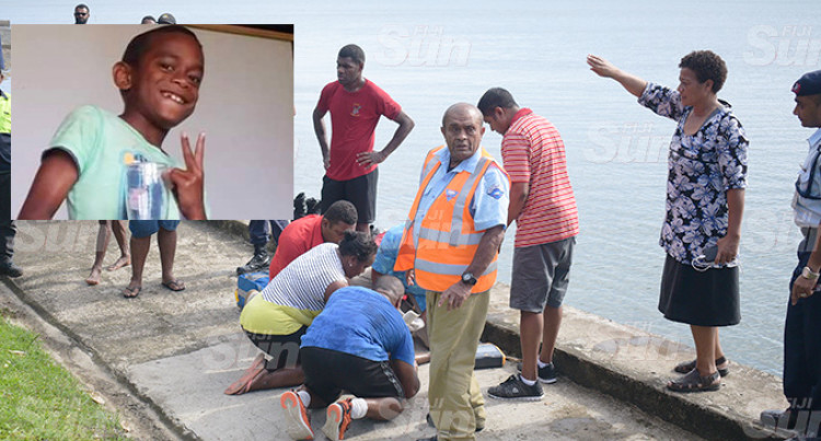 Boy, 9, Drowns Along Suva Foreshore Near Nasova