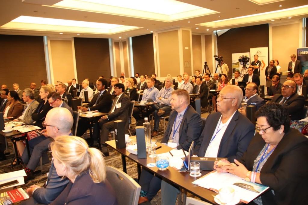 Participants at the Australia- Fiji Business Council Forum in Brisbane, Australia.