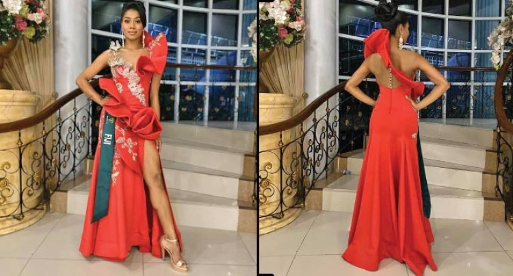 Designer Portrays Femininity, Class In Miss Earth Fiji 2019 Zaira Begg's Gown