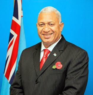 Prime Minister Voreqe Bainimarama.