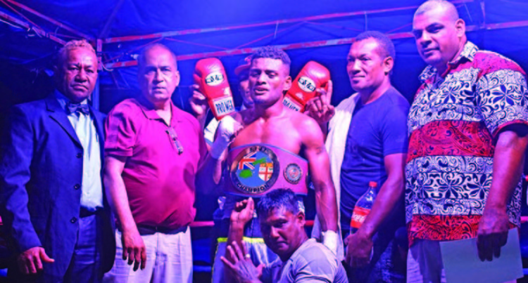 Ravudi Survives Road Accident To Win Fiji Super Welterweight Title