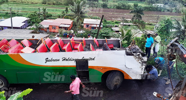 Lakena Bus Accident: Bus Driver Charged, To Appear In Nausori Magistrates Court Today