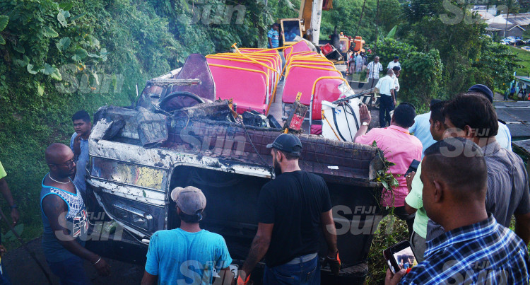 Lakena Bus Accident: Minister Usamate Awaits LTA, Police investigations